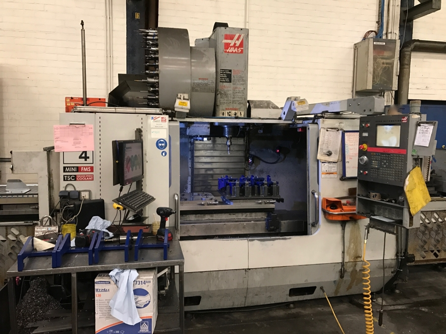 HAAS CNC Vertical Machining Centre