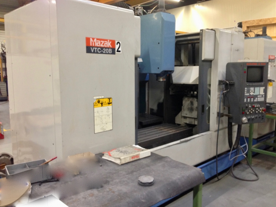 MAZAK CNC Vertical Machining Centre