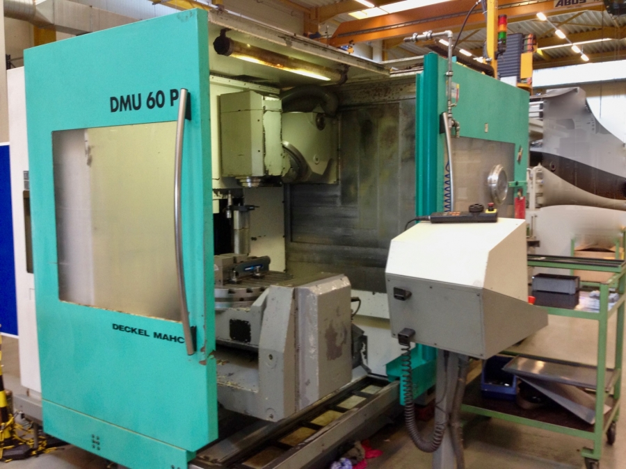 DMG 5-axis machining centre