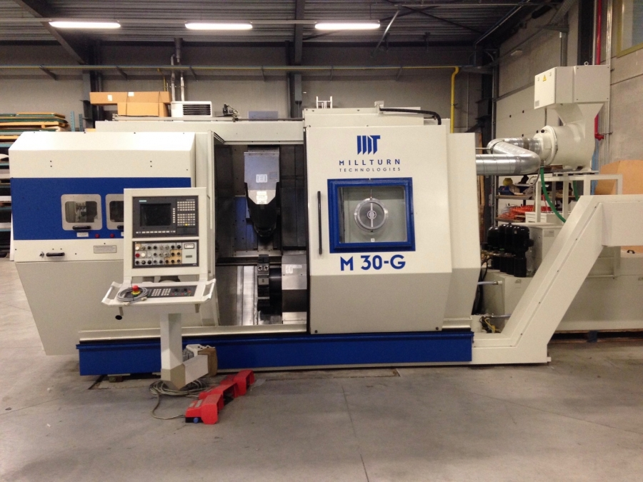 VOEST ALPINE Multi-axis CNC Turning Centre