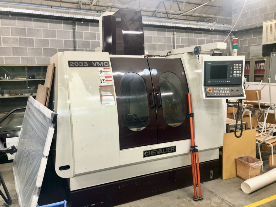 CHEVALIER CNC Vertical Machining Centre