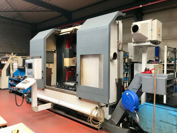 MATEC 5-axis CNC VMC and Milling Machine