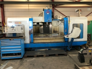 EUMACH Vertical Machining Centre with 4th axis