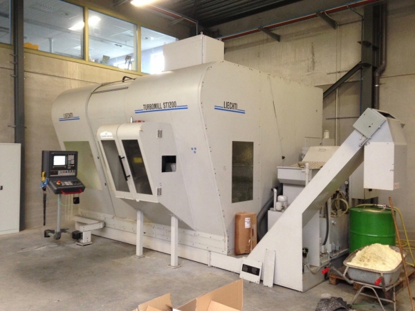 LIECHTI 5-axis CNC Vertical Machining Centre