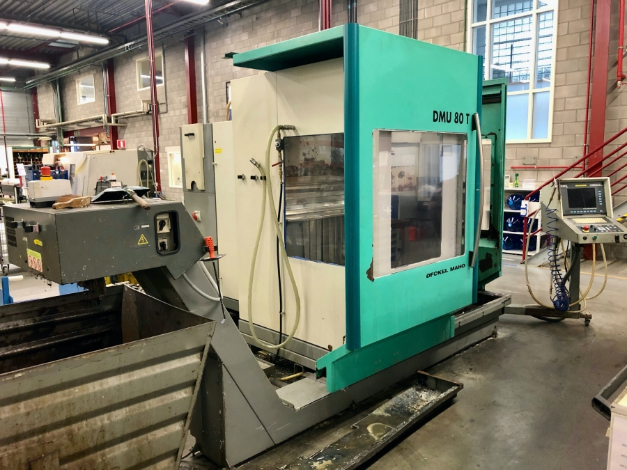 DECKEL MAHO CNC Vertical Machining Centre