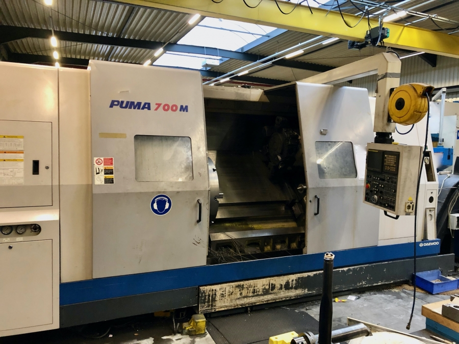 DAEWOO CNC Turning Centre with C axis and live tooling
