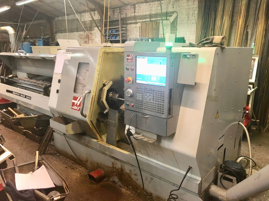 HAAS CNC Turning Centre with C-axis