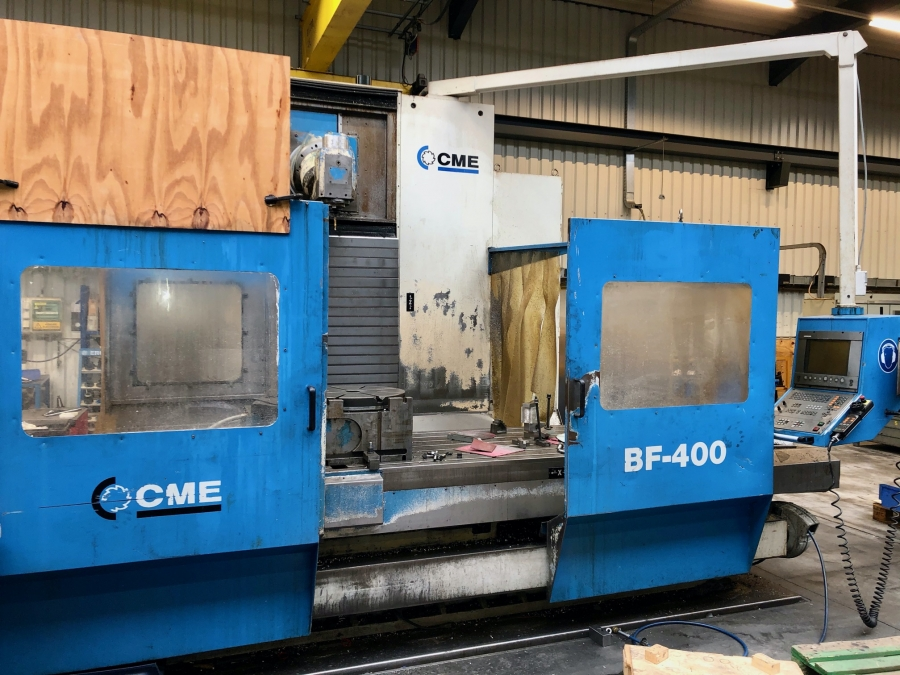 CME CNC Bed Type Milling Machine with 4th axis