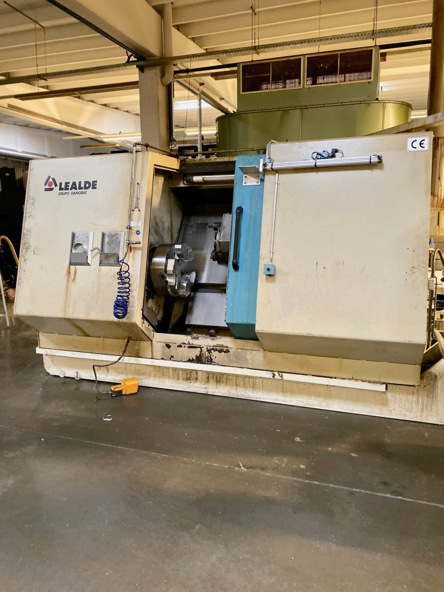 LEALDE CNC Turning Centre with C axis