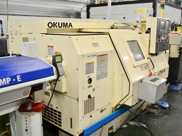 OKUMA CNC Turning Centre with C axis and live tooling